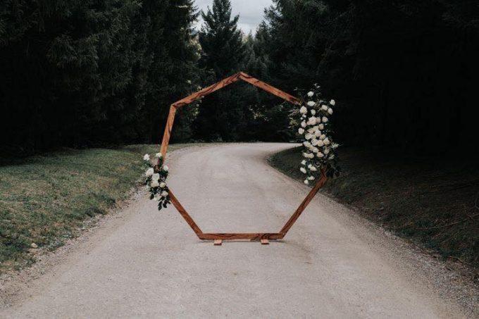 Esküvő boldogságkapu