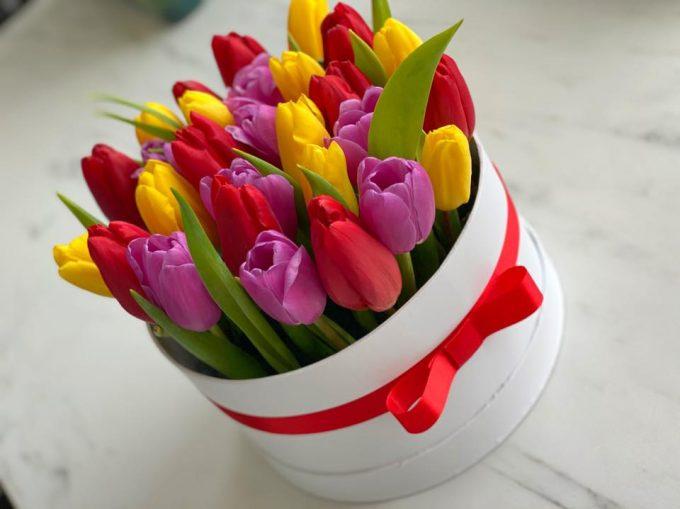 30 szálas tulipán box