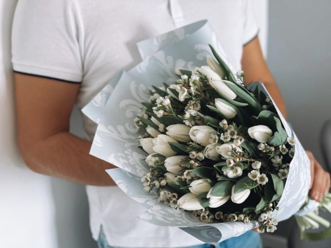 30 szal tulipan