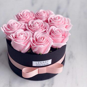 Rózsaszín Szappan rózsa