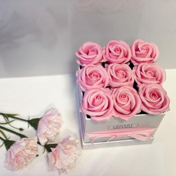 rózsaszín szappanrózsa