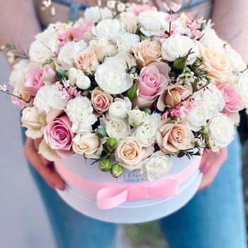 Pasztell vegyes virágbox