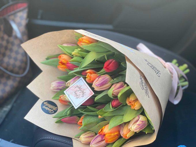 Tulipán Csokor vegyes színben