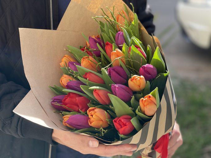 30 szálas tulipán csokor