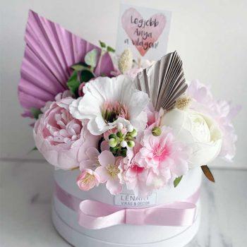 Anyák napi virágbox